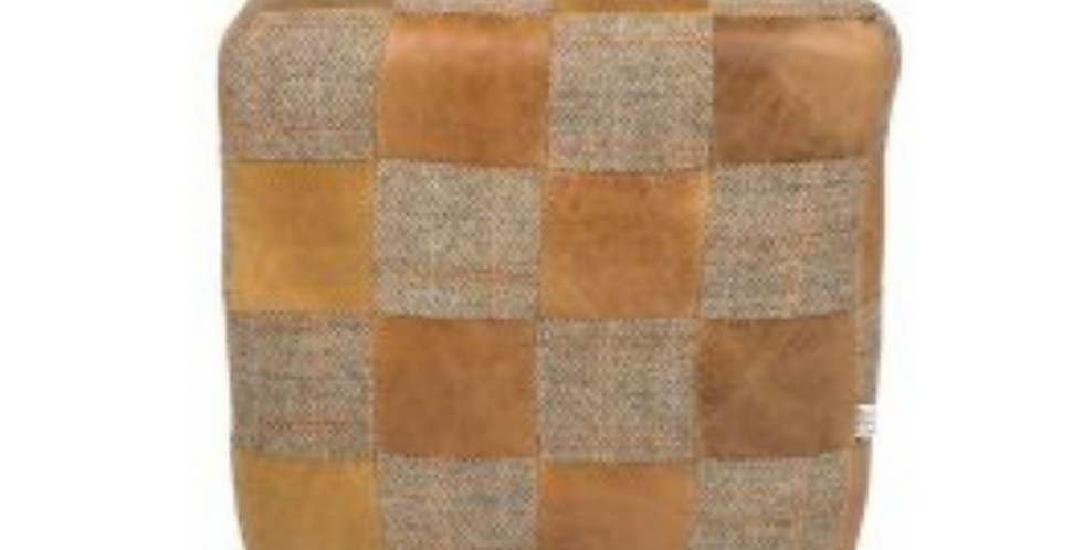 Patchwork Cube - Brown Cerato & Gamekeeper Thorn