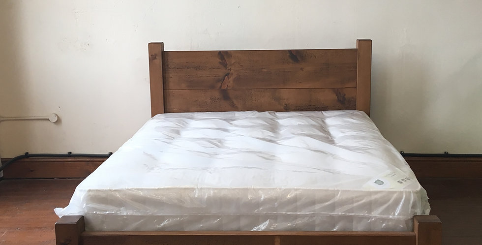 Plank Original Low End King Bed (5ft)