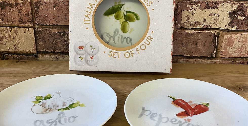 Antipasti Plates - Set of 4
