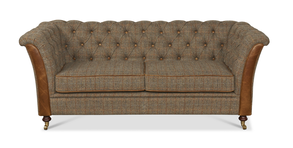 Gamekeeper Thorn with Brown Cerato - 2 Seater Sofa