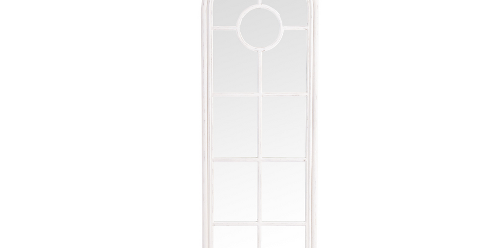 Narrow Arched Window Mirror