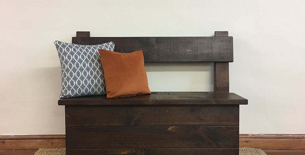 Plank 5ft Storage Bench
