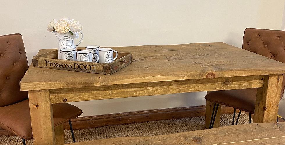 Plank Edge Table - 5ft x 3ft