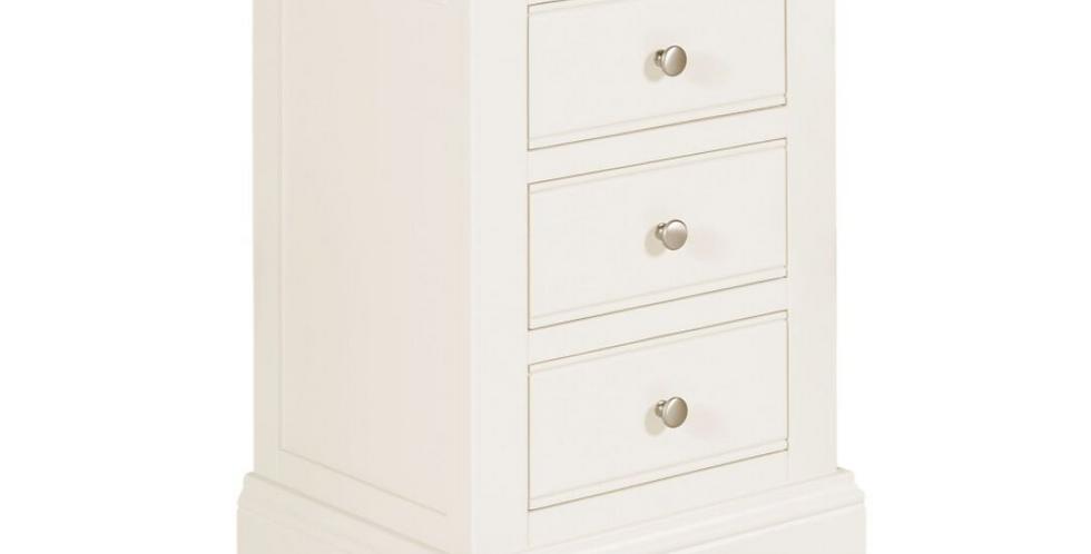 Lily 3 Drawer Bedside