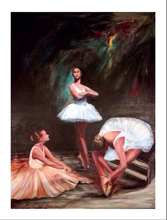 Title: Bailarinas.