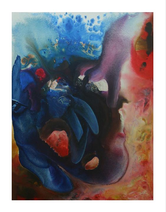 Title: Violeta y Azul.