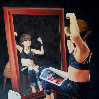 """""""Girl At The Mirror, 2020"""""""