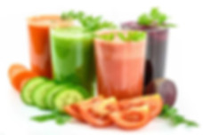 importance of healthy eating: a photo of some healthy veggies juices