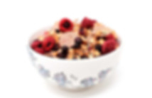 Benefits of eating Breakfast: a photo of a bowl of healthy muesli