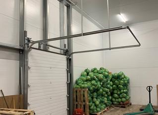 Склад хранения овощей и фруктов с разделением температурного режима