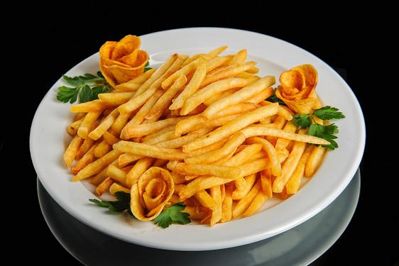 картофель соломка