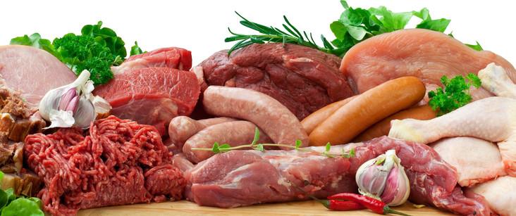 мясо и мясные полуфабрикаты