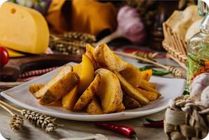 картофель дольки