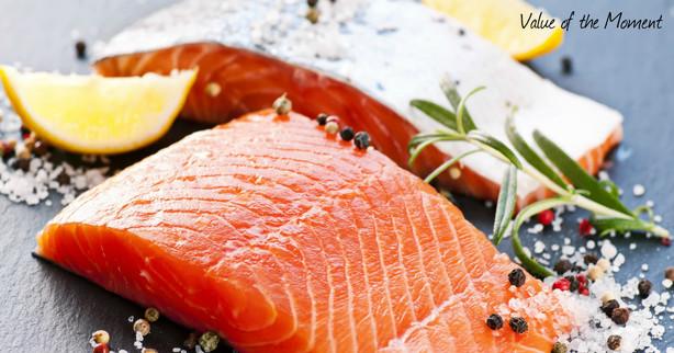 рыба в виде стейков или филе