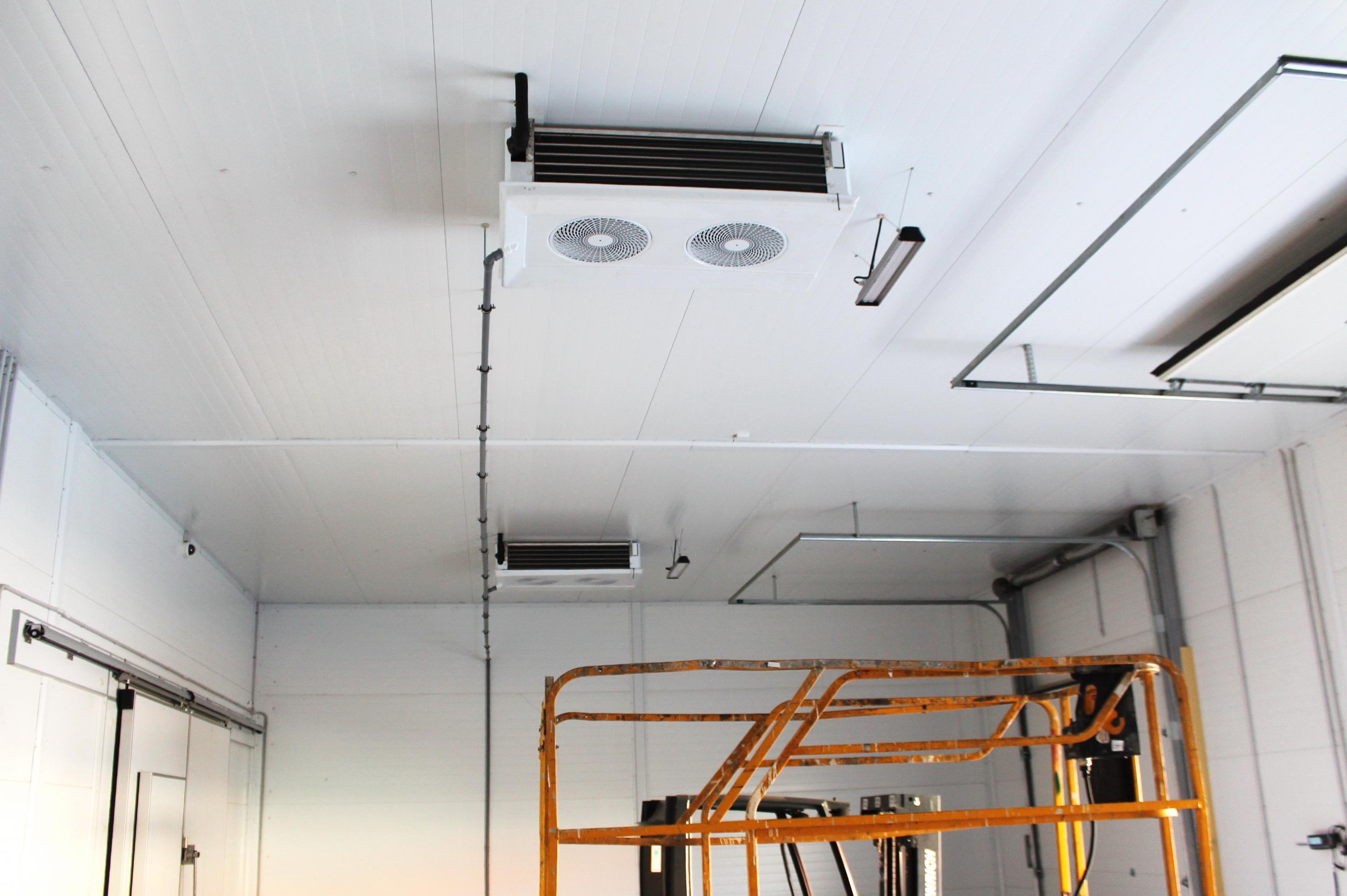 потолочные воздухоохладители