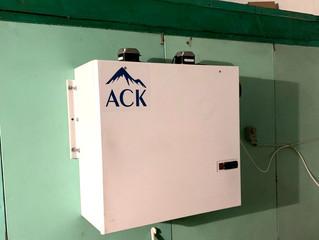 Переоснащение холодильных камер в Курагино