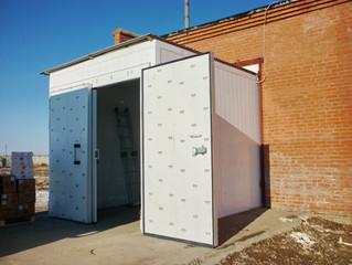 тамбур холодильного склада