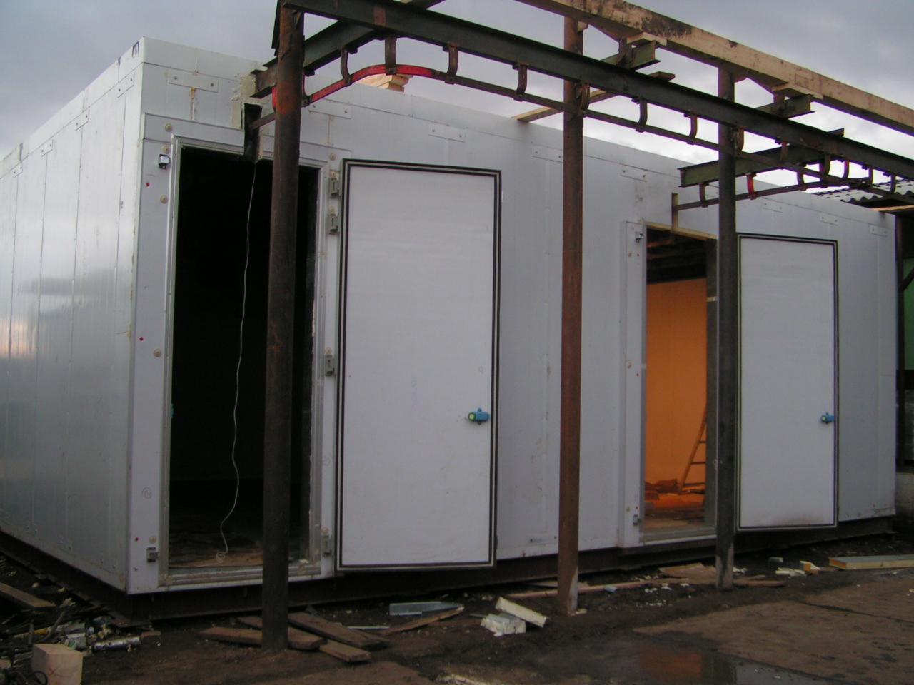 камера хранения мясной продукции