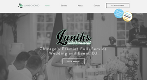 Luniks Entertainment - New Site Homepage