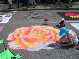 Shaffer chalk walk 2006.jpg
