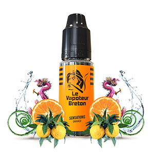 Le Vapoteur Breton - Sensations Orange
