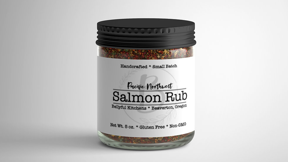 Pacific Northwest Salmon Rub