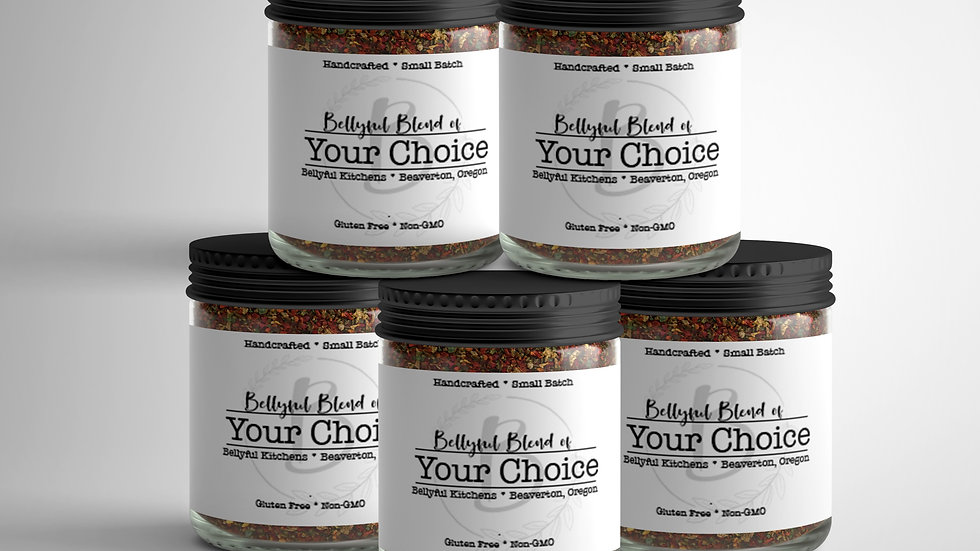 Bellyful Bundle - Select 5 of our Blends