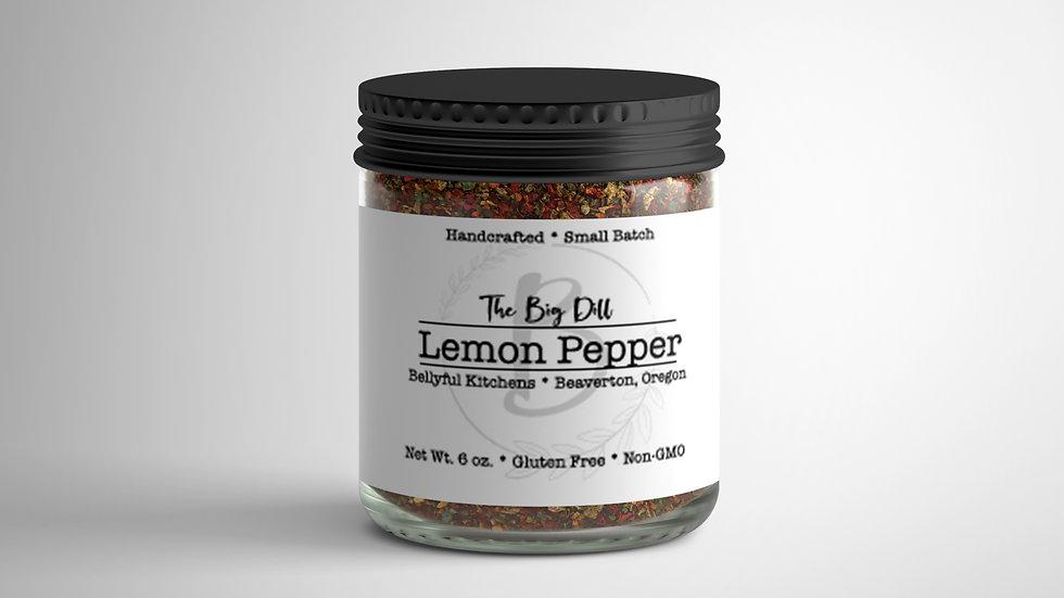 The Big Dill Lemon Pepper Blend