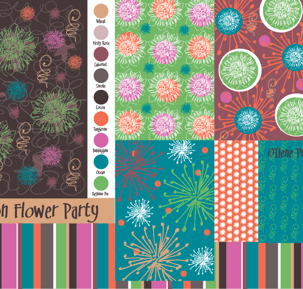 Passion Flower Party Collection