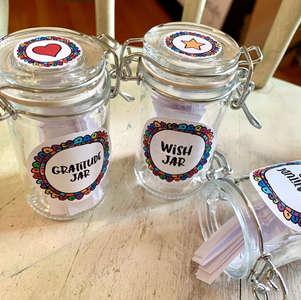 Gratitude & Wish Jars