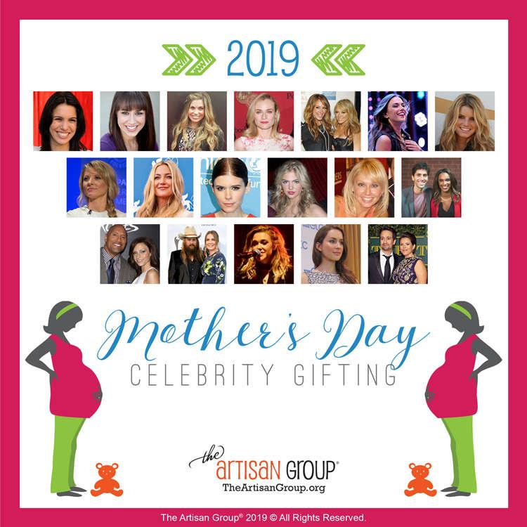 2019 Mother's Day Celebrities