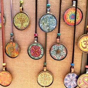 Mandala Pendants