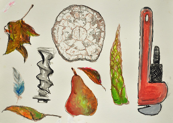 COLD WEATHER STILL LIFE   F