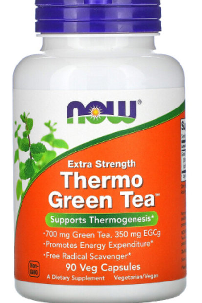 Thermo Green Tea, Extra Strength, 90 Veg Capsules