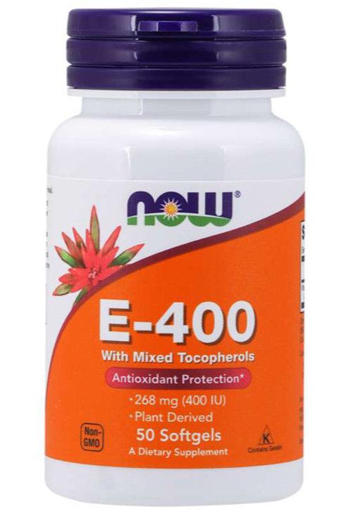 Vitamin E-400, 50 Softgels