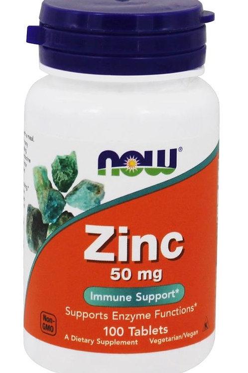 Zinc (50mg) - 100 tablets