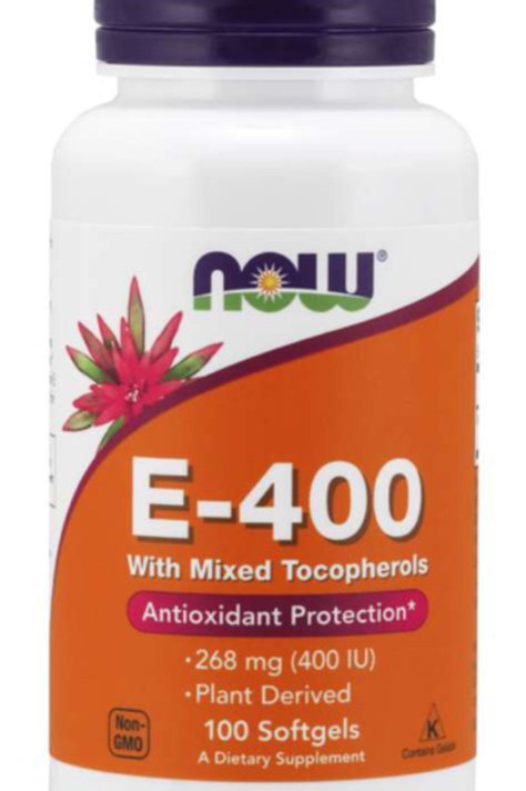 Vitamin E-400, 100 Softgels