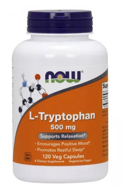 L-Tryptophan, 500mg, 120 Veg Capsules
