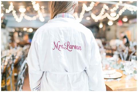Mr & Mrs Larson