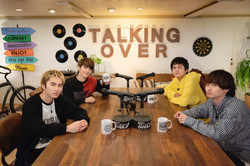 dTV DISH//のTalking Over
