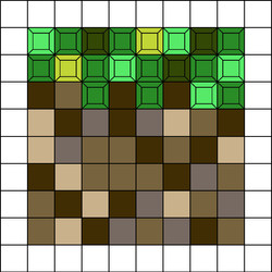 minecraftTree (100 pcs.)