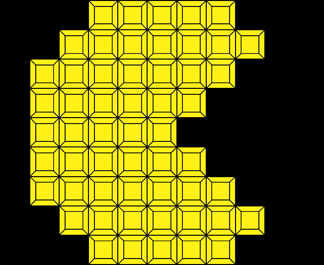 PacmanYellow (99 pcs.)