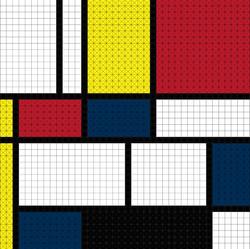 Mondrian (1600 pcs.)