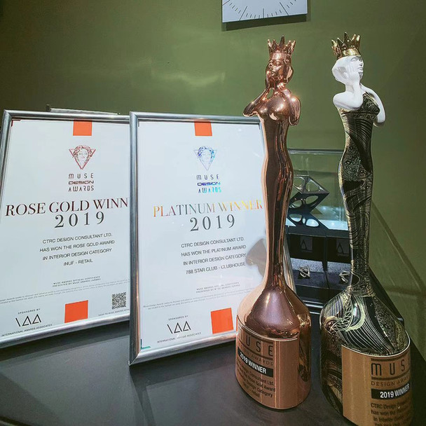 Muse Design Awards in 2019