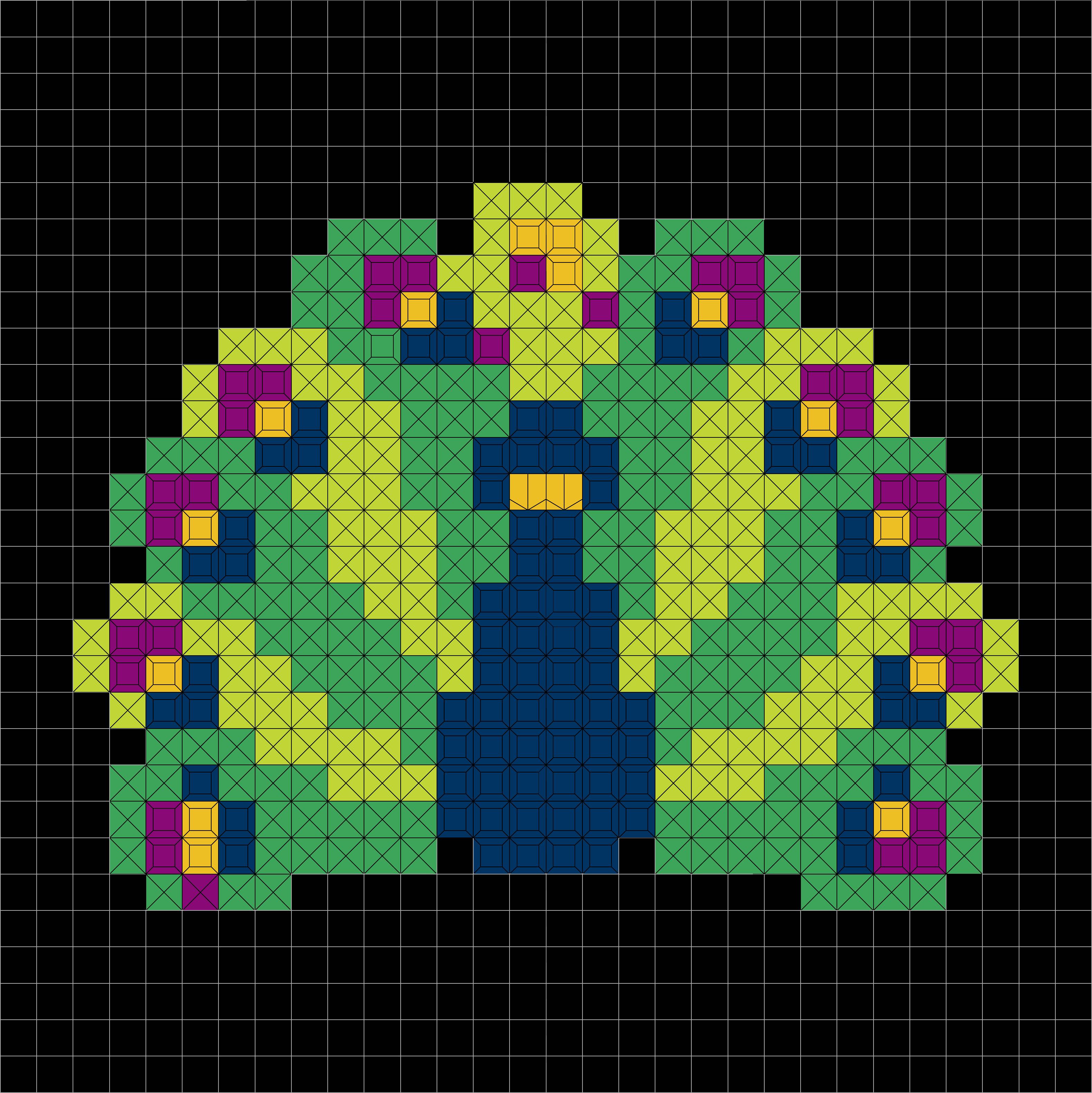 peacock(900pcs.)