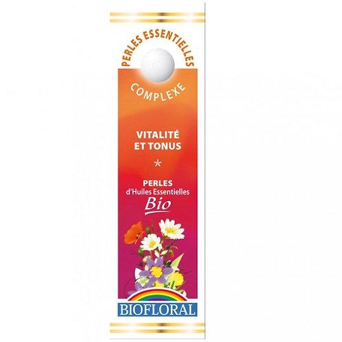 Perles d'huiles essentielles vitalité et tonus Bio - 20 ml