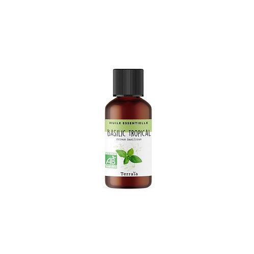 Huile essentielle Basilic tropical Bio - 30 ml