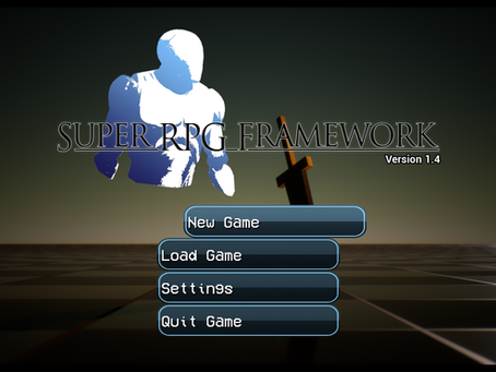 Super RPG Framework - Version 1.4 Released!