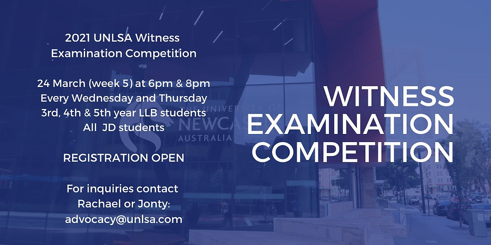 UNLSA Witness Examination