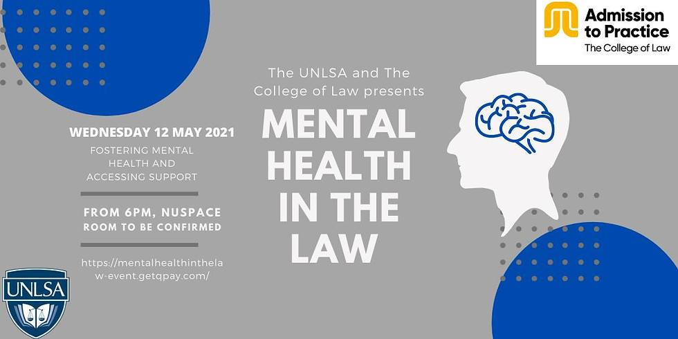 Mental Health in the Law - Social Justice Forum
